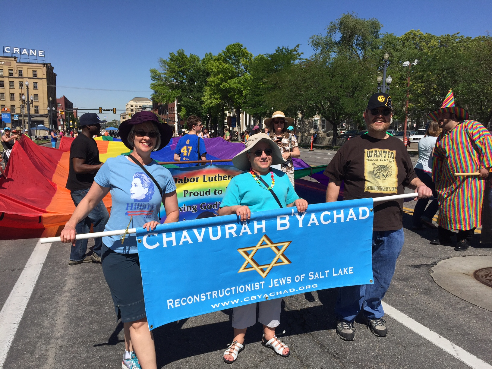 CBY at the 2016 Utah Pride Parade