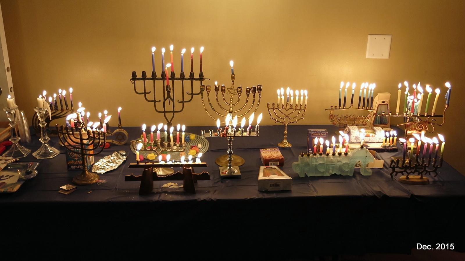 2015 CBY Hanukkah Party